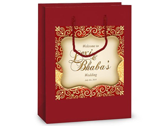 Indian Wedding Gift Bags: Top 25 Ideas About Indian & Hindu Wedding Welcome Bags