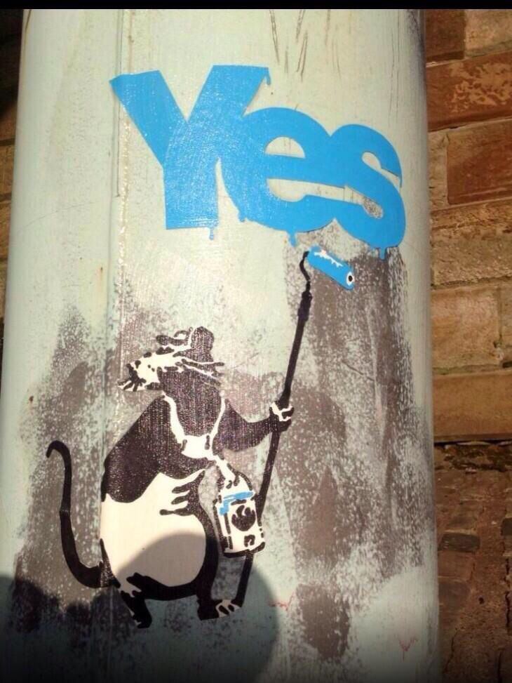 best scottish independence ideas stirling yes campaign for scottish independence much more creative than the no s vote yes on