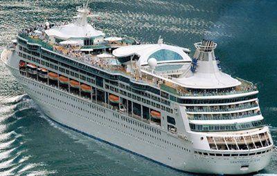 "Royal Carribean ""Grandeur of the Seas"" Palma, Marseille, Adjaccio, Naples, Sicily Malta"