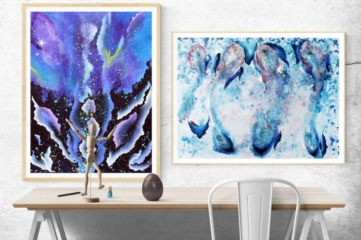 Butterfly nebula - In-context view (home interior)