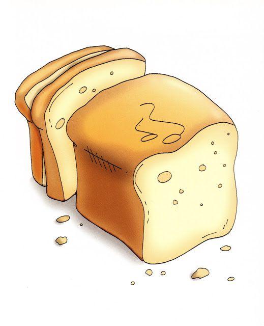 clipart gesneden brood