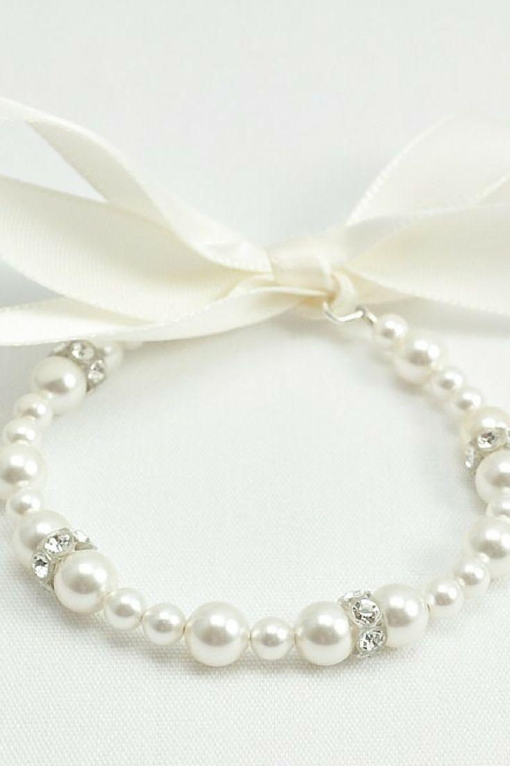 Best 25+ Flower Girl Jewelry Ideas On Pinterest  Flower Girl Gifts, Mummy  Photos And Kids Wedding Dress