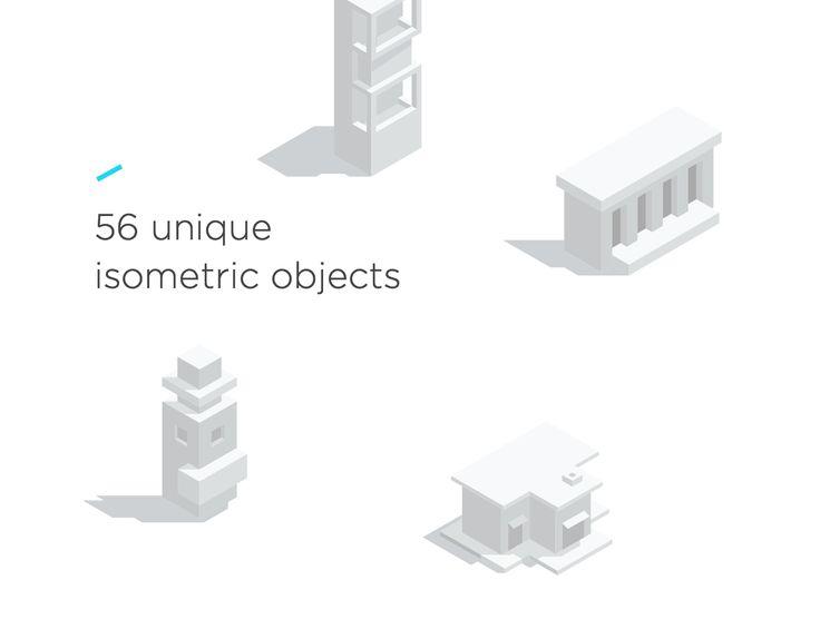 City Building Kit http://bit.ly/29vcw6f #digitalart #graphics #graphicdesign #illustration #vector #isometric