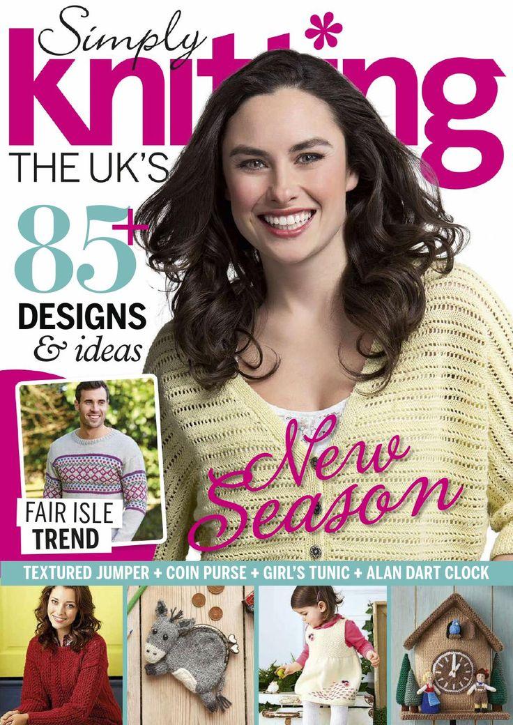 Simply knitting spring 2015