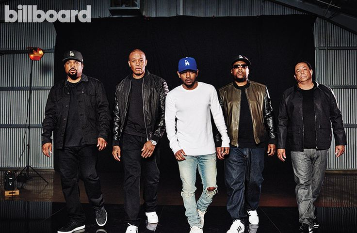 Billboard Cover: Kendrick Lamar Interviews N.W.A. About Coming 'Straight Outta Compton' and Changing the World - Hollywood Reporter