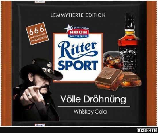 Ritter SPORT - Völle Dröhnüng.