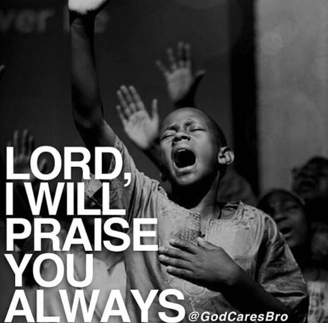 Beautiful image of praising the Lord!! ✝️