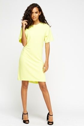 Strukturiertes Kleid, erhältlich ab Größe 44 unter https://allesfuer10.de/de/Strukturiertes-Swingkleid/p/610075    #gelbeskleid #roteskleid #grüneskleid #schwarzeskleid #plussize #kurvig #übergröße #übergrösse #übergrössen #übergrößen #schnäppchen #günstig #sexykleid #bigandproud #größe44 #größe50 #größe42