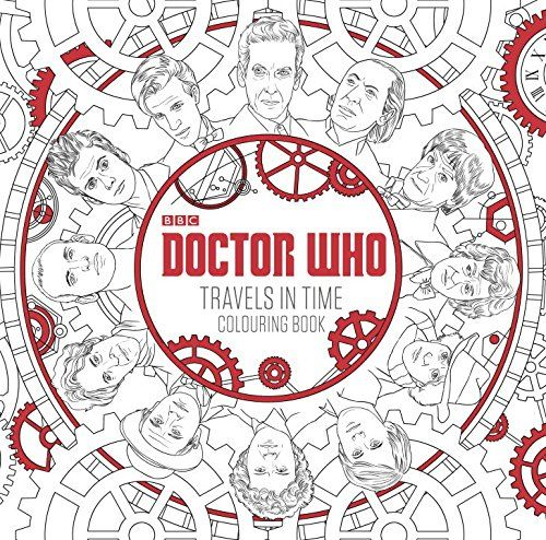 Second Doctor Who Colouring Book Featuring David Tennant To Be Released In April