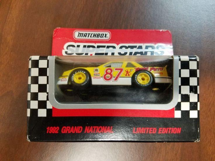 LIMITED EDITION 1992 GRAND NATIONAL #87 JOE NEMECHEK AUTOGRAPHED MATCHBOX CAR #NA