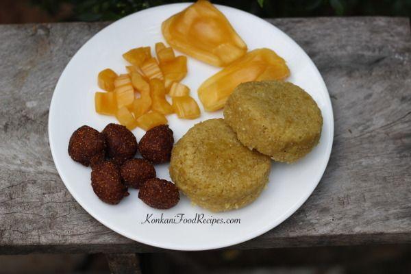Jackfruit Idli (Ponsa Idli in Konkani)