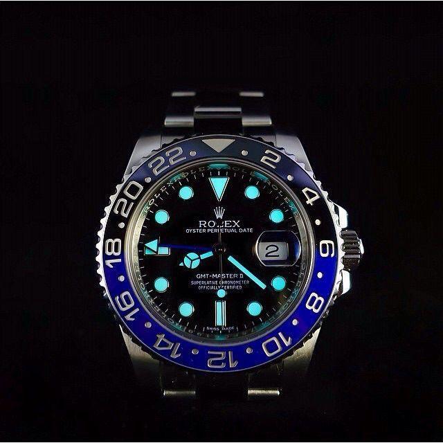 """Rolex GMT Master II """"Batman"""" - watches designer mens, mens watches for cheap, mens watches cheap online - black and rose gold mens watch, ladies swiss watches, luxury watches men *sponsored https://www.pinterest.com/watches_watch/ https://www.pinterest.com/explore/watches/ https://www.pinterest.com/watches_watch/citizen-watches/ http://vectorwatch.com/"""