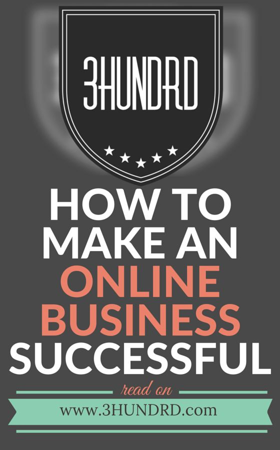 How To Make An Online Business Successful: Study, Learn, Earn, Repeat - 3HUNDRD