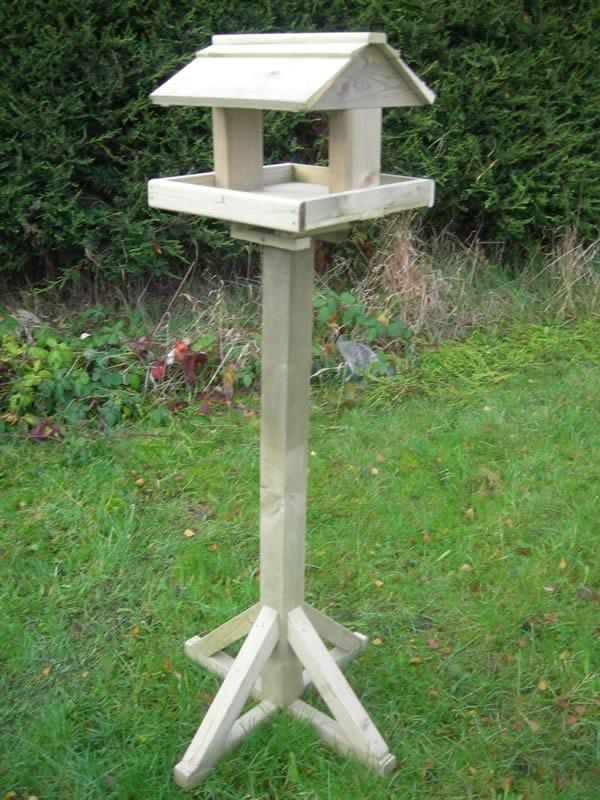 Image of Standard Planed Timber Birdtable