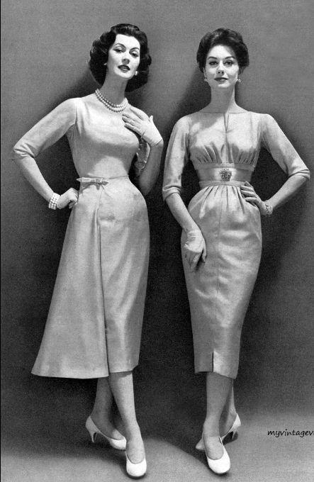 1957 Dovima & Nancy Berg