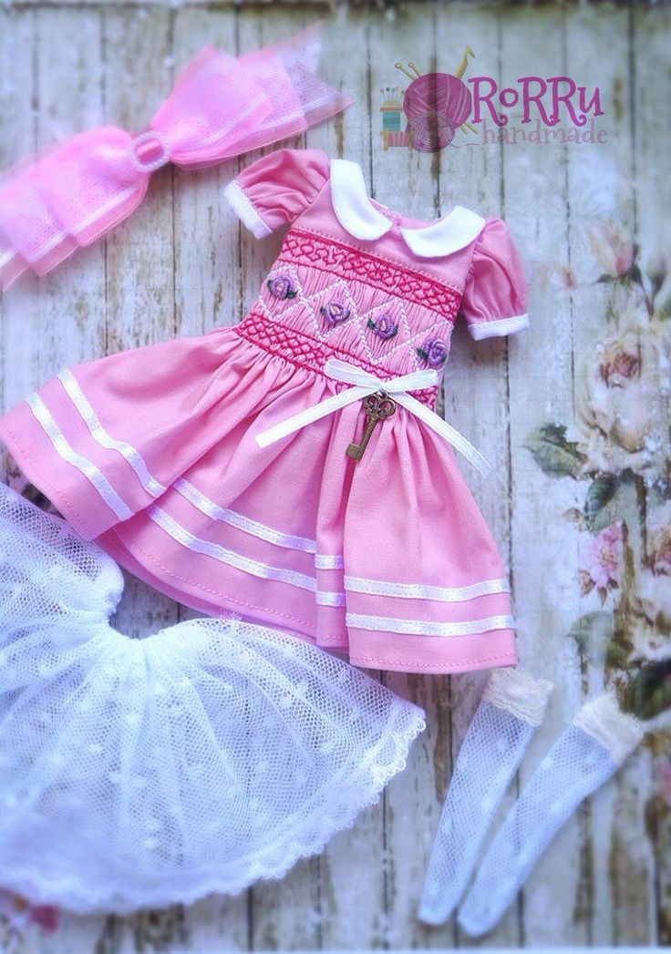 A personal favorite from my Etsy shop https://www.etsy.com/listing/510323529/pink-smocked-pastel-dress