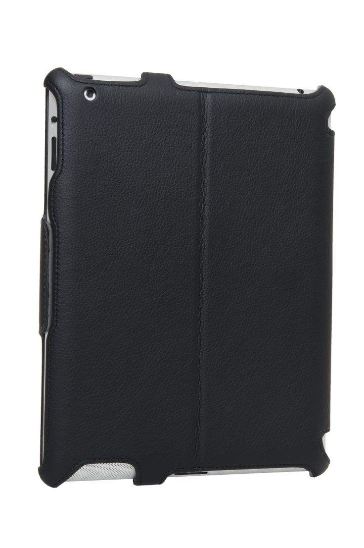 Sprouts Executive Slim Folio is suitable for the iPad2/3/4 and is specifically designed to accompany your briefcase, it also has a built-in strap to be easily held on the go. This super slim casing is made using premium padded leather suede. Price: $50.00 #sprout #freedomtogrow #case #cover #tablet #apple #black #electronics #device #technology #slim #magnetic #leather #ipad #executive #office