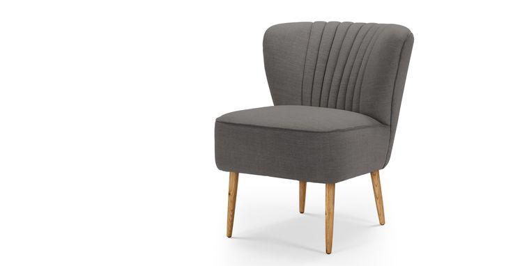 Jersey Chair, Graphite Grey