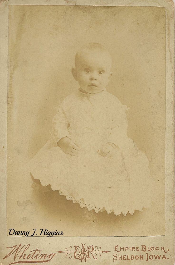 https://flic.kr/p/voaxvd | Bright Eyed Baby Of Sheldon, Iowa. SCAN6703 | A found cabinet card.  Photo by  Whiting, Empire Block, Sheldon, Iowa.   No other info on card.