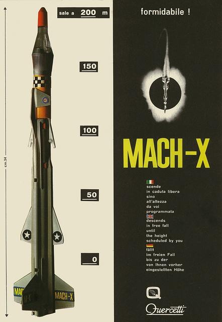 Mach-X, via Flickr. #Quercetti #ADV