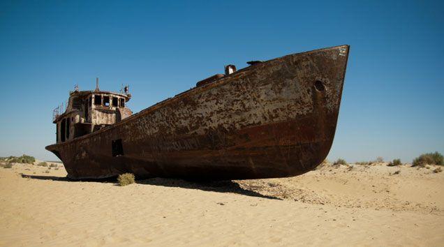 Aralsee im Kasachstan Reiseführer http://www.abenteurer.net/3684-kasachstan-reisefuehrer/