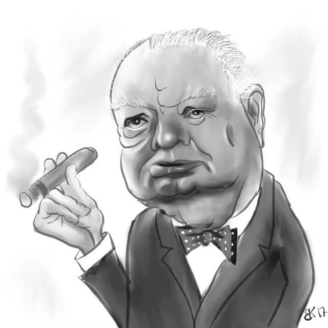 Daily sketch 0075 - How to Draw caricature of Winston Churchill  My Daily sketch - by Brian Kristensen How to Draw #caricature of #Winston #Churchill  #Practice #DailyPic #DailySketch #DailyDrawing #Drawing #Sketching #Progress #HowTo #HowToDraw #Video #Sketch #DIY #illustration #illustrationartist #illustrator #applepencil #ipadpro #procreate #winstonchurchill #cartoon #karikatur  Please comment with critic so i Can practice my #illustration skills.  See all sketches on my blog…