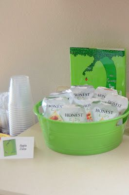 Loving What We Live: Bookworm Birthday Party