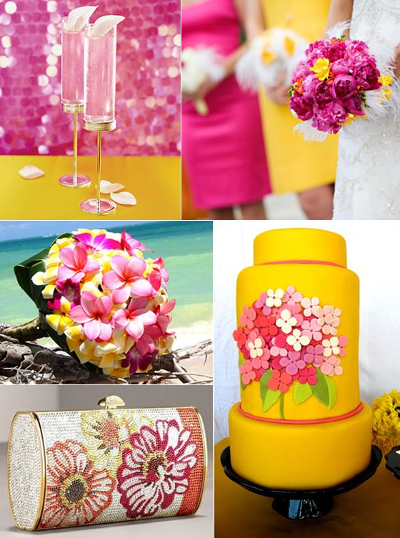 7 best Yellow Fuschia images on Pinterest | Wedding styles, Charcoal ...