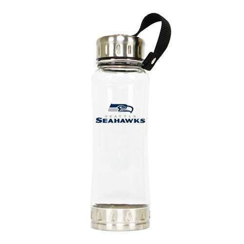 DuckHouse Sports NFL Seattle Seahawks Clip-On 16oz Clear Water Bottle #DuckHouseSports #SeattleSeahawks