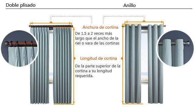 (Dos paneles) clásica sala de color beige estampada oscurecimiento cortinas térmicas - USD $ 54.99