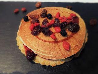 Ricette vegane: PANCAKE VEGANO CON FARINA D' AVENA INTEGRALE