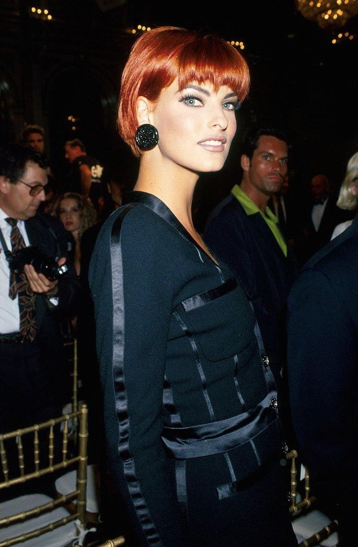 Linda Evangelista–who famously quadrupled her rate by cutting her hair