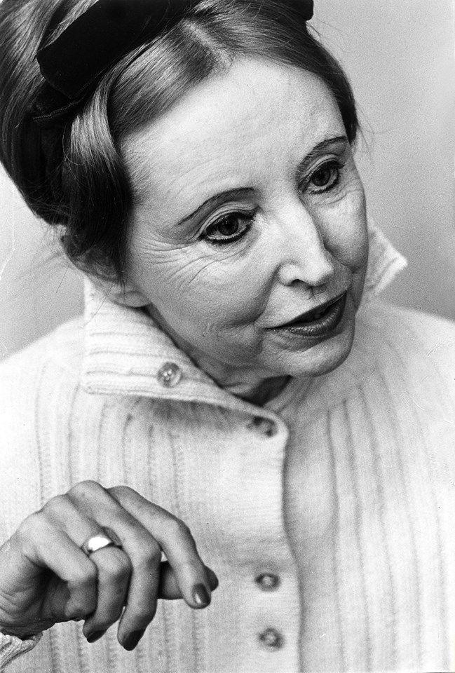 Anaïs Nin (1903-1977), 1966.                              …