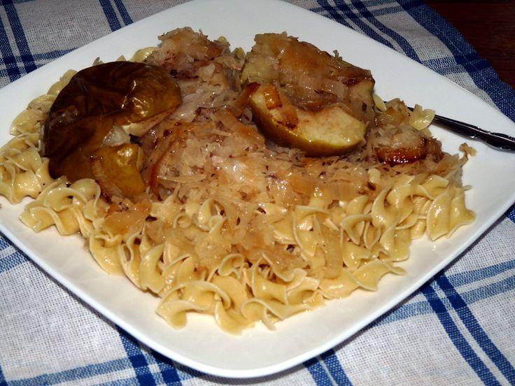 Pork Chops And Sauerkraut on Pinterest | Sauerkraut, Baked pork chops ...