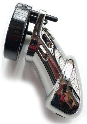 CB 6000 Designer Line Male #Chastity Device - Chrome Edition.