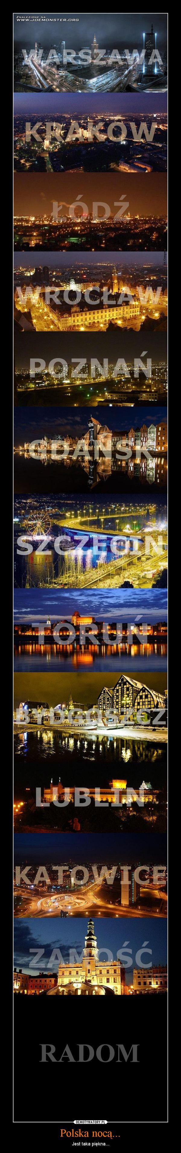 Polish cities (Poznan, Krakow, Warsaw, Wroclaw, Szczecin among others) by night. #poznan #krakow #warsaw #wroclaw #szczecin #katowice #lodz #gdansk #torun #bydgoszcz #city