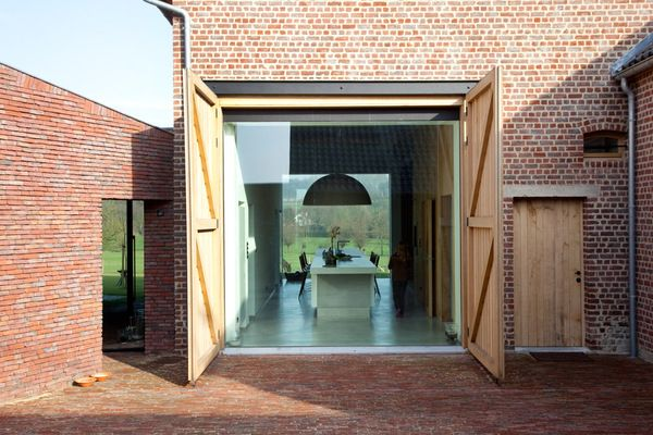 The Rabbit Hole in Gaasbeek, Belgium, by LensAss Architecten (Winner of the Brick Award '12).