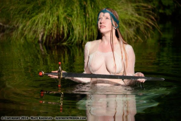 lady of the lake nude