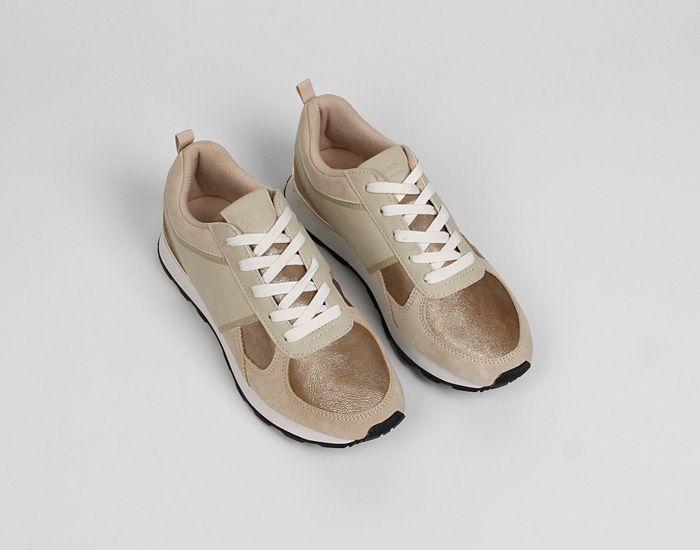 Новый нескользящей демпфирование комфорт женская обувь кожаные ботинки диких моды ретро золотые туфли - Taobao