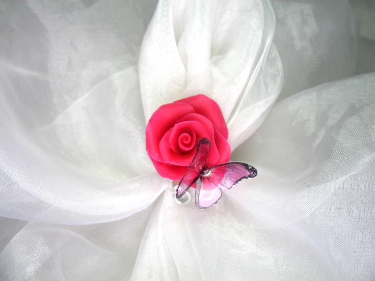 bague diva rose