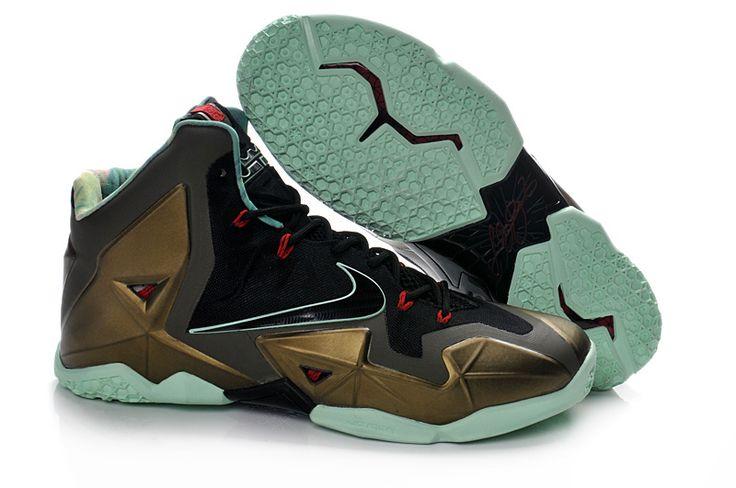 Fast Shipping To Buy Nike Lebron XI 11 Parachute Gold/Arctic Green