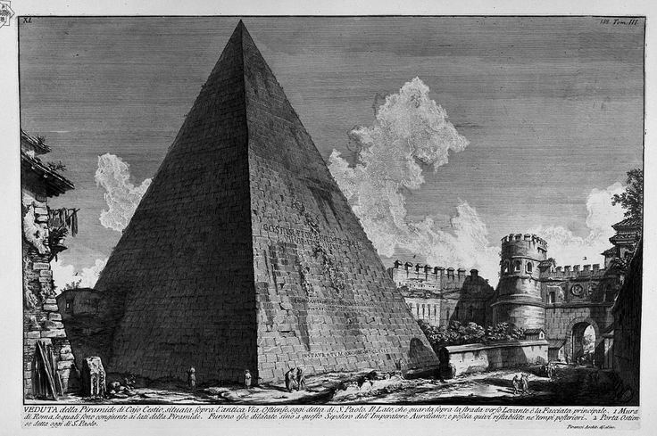 https://commons.wikimedia.org/wiki/Giovanni_Battista_Piranesi?uselang=ru Пирамида Цестия.