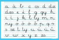 Magyar írott kisbetűs ábécé