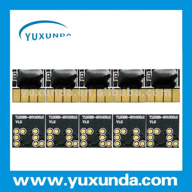 Yuxunda best selling show ink level reset chip for hp 564 ink cartridge $1~$20