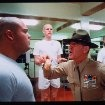 Still of Vincent D'Onofrio, R. Lee Ermey and Matthew Modine in Full Metal Jacket