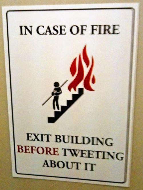Before tweeting... :)
