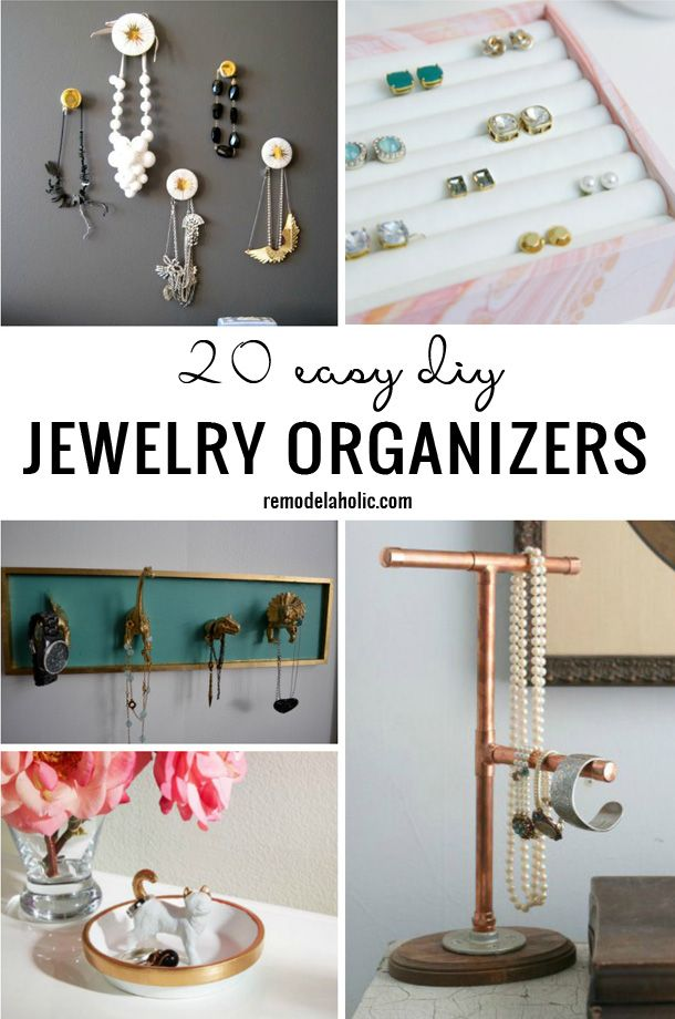 Foyer Diy Jewelry : Best images about cleaning and organizing on