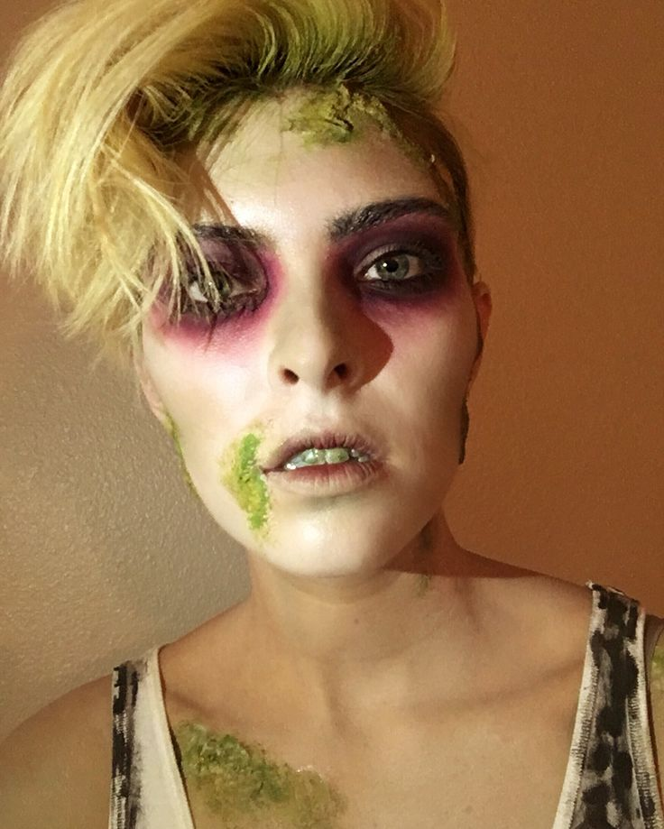 Beetlejuice character makeup by Mikaela Hansen Insta: @mikaelamua