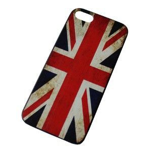 Colorfone Hard Case Vintage Vlag UK voor Apple iPhone 5S / 5