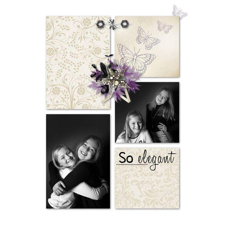 """avec le kit """"Elegant new year"""" de Delph Designs"""